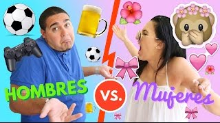 HOMBRES vs MUJERES! - Mariale