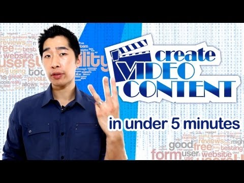 3 Ways To Create Video Content In Under 5 Minutes