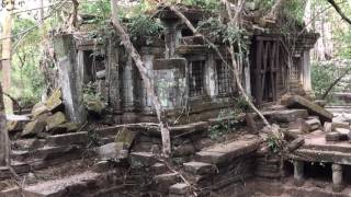 Download Beng Mealea, 12th century temple overtaken by jungle, Cambodia (Watch in 1080p!!) Mp3