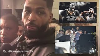 Tristan Thompson Punches Draymond Green In The Club & LeBron James, Kevin Durant Break It Up