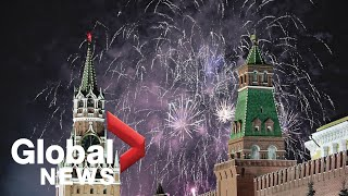 New Year's 2020: Russia rings in New Year with fireworks display