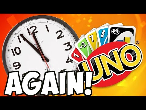 THE WORLDS LONGEST GAME... AGAIN!?? | Uno With Friends