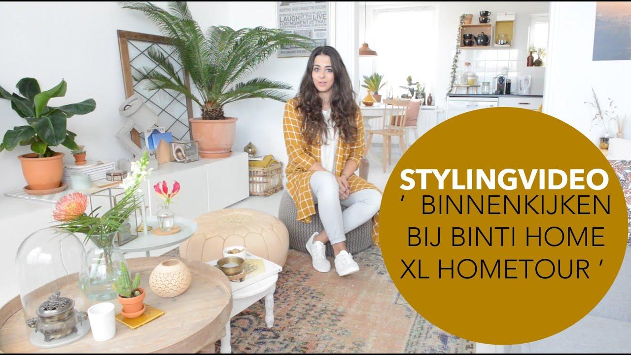 Binnenkijker Styling Inspiratie : Xl hometour styling tips uit mijn huis binnenkijken binti home