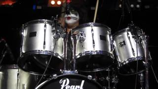 102915 KISS Alive! NYC: God Of Thunder drum solo