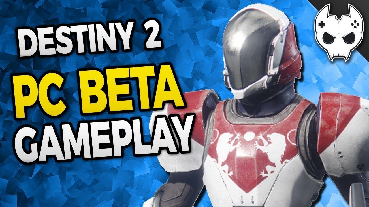 how to play destiny 2 beta pc