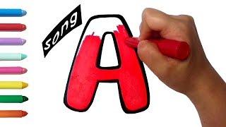 Alphabet Song | abc writing alphabet | Writing alphabets a to z