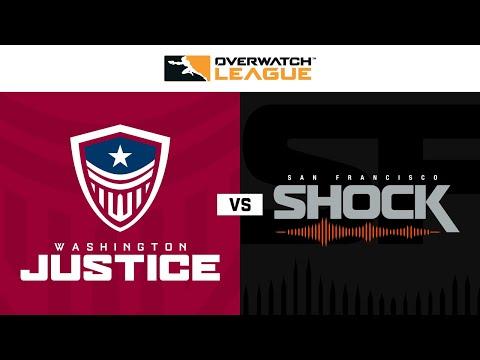 Washington Justice vs San Francisco Shock | Week 20 | NA Day 2