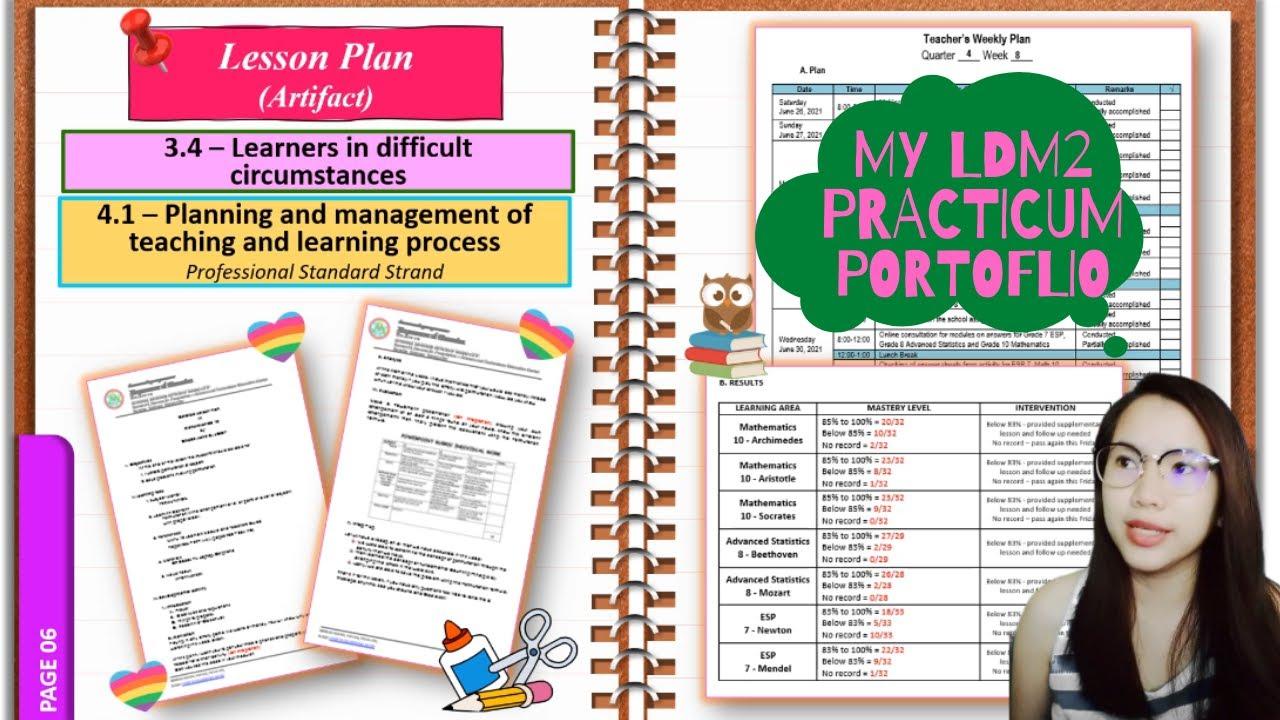 Download LDM2 Practicum Portfolio (Artifacts) with Free Template