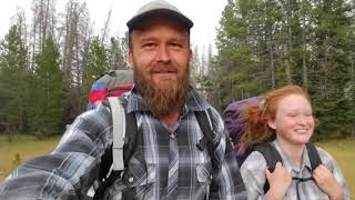 Father Daughter Backpacking To Remote Wilderness Lakes For Brook Trout / RZR 1000 / Tentbox.
