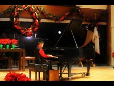 Marcus Deleon  Christmas 2012  Piano Recital (4th)