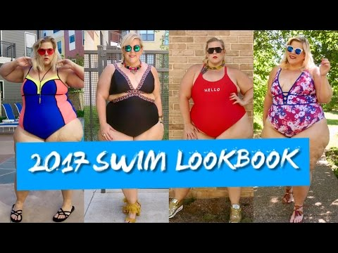 PLUS SIZE SWIMSUIT LOOKBOOK: Monokinis, Metallics, and More