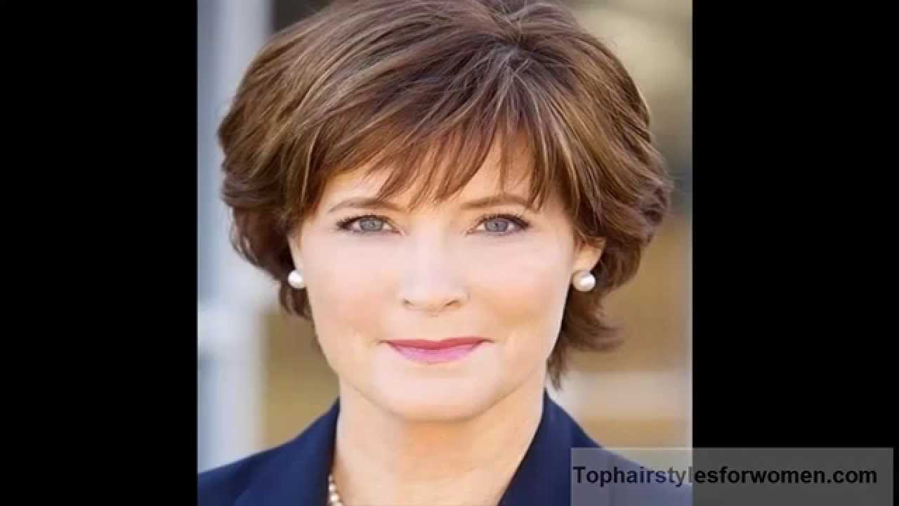 best short hairstyles for women over 50 - youtube