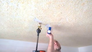 видео Рисунок на потолке своими руками — техника нанесения