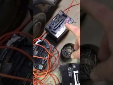 2000 ez go gas golf cart wiring diagram dodge trailer plug how to change batteries from six 12 volt youtube