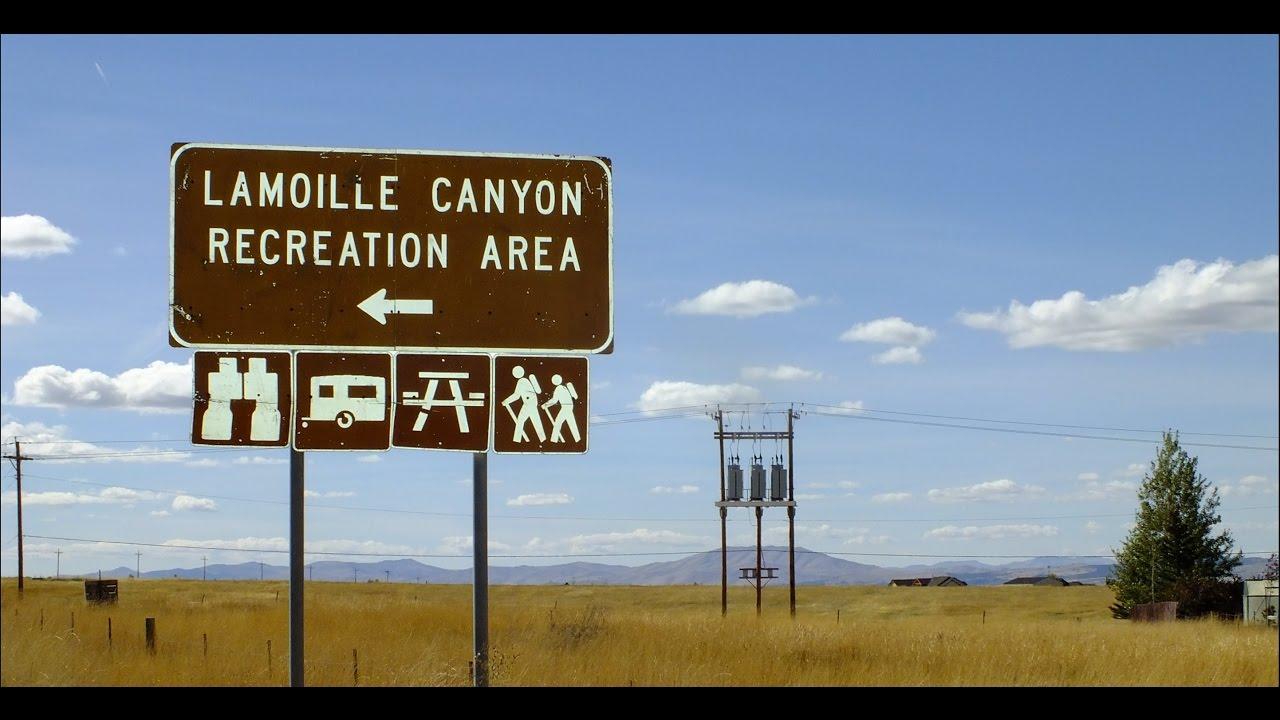 LAMOILLE CANYON SCENIC DRIVE, NEVADA