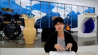Pastora Célia Lacerda - Salmo 27. 1-4