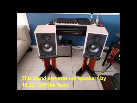 Easy DIY Speaker Stands