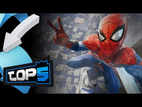 Los Mejores Videojuegos De Superhéroes - TOP 5