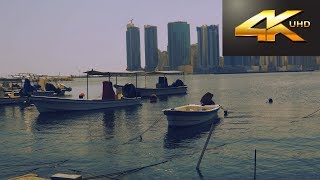 4K UHD Experience 60FPS ● Relaxing video ● nature ambience sounds ● Marina Beach BAHRAIN