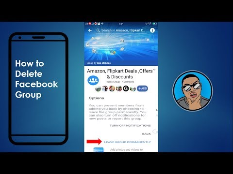 How To Delete Facebook Group On Mobile | Mobile App