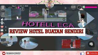 Review Hotel Buatan sendiri Sakura School Simulator