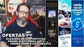 Elegidos de los críticos, ofertas EA & promo 15 x 100 en PS Store Feb 27, 2018