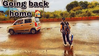 He is going Back home from Gaming House 🏡 Vlog #10