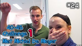 VLOG#24 40-45 Challenge met Michiel De Meyer
