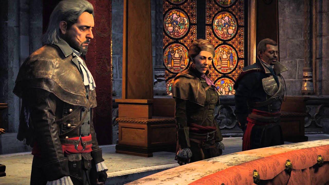 Assassin's Creed Unity - Council Debriefing: Arno Rank ...