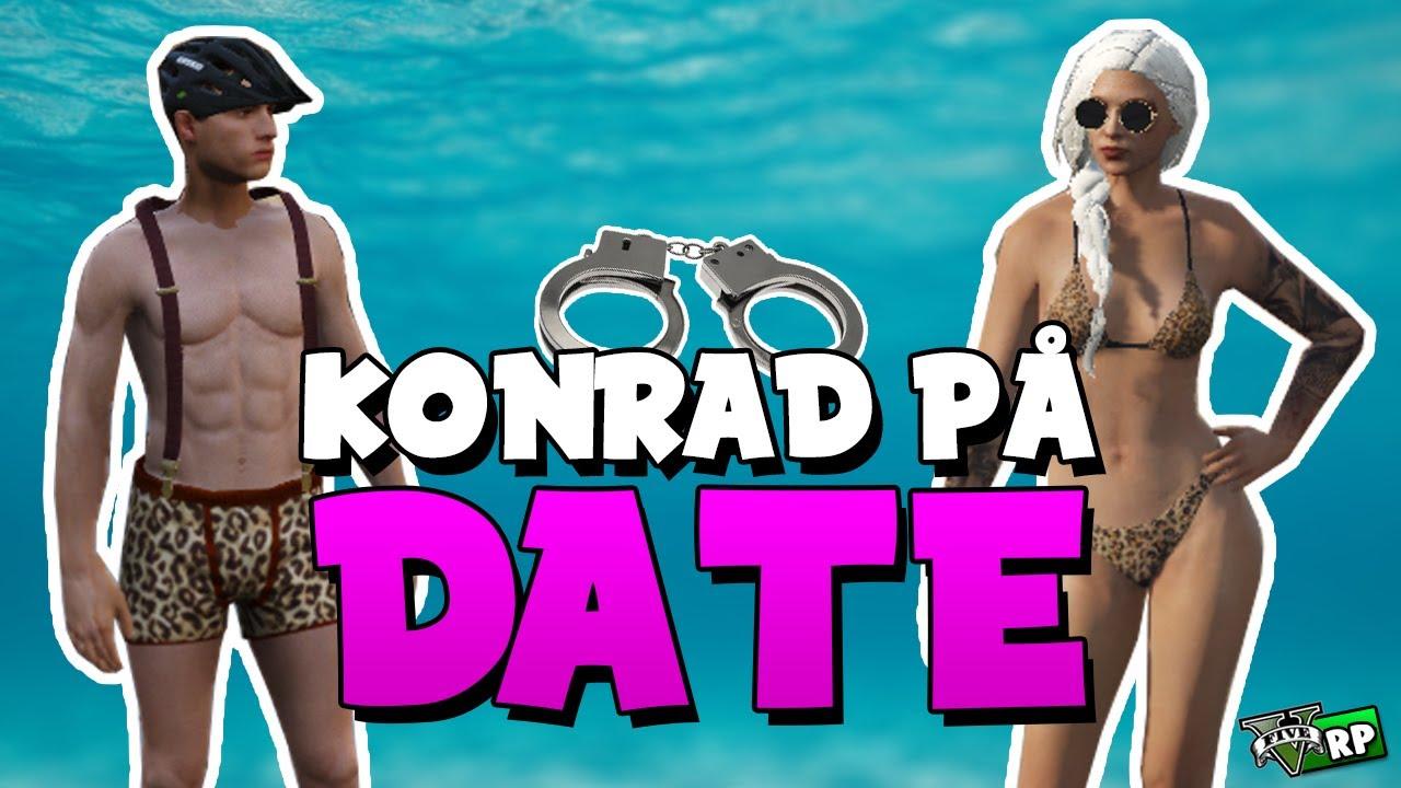 KONRAD PÅ DATE! | GTA 5 RP