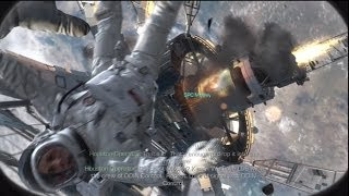 Call Of Duty Ghosts: First Mission/ Odin Space Station Explosion