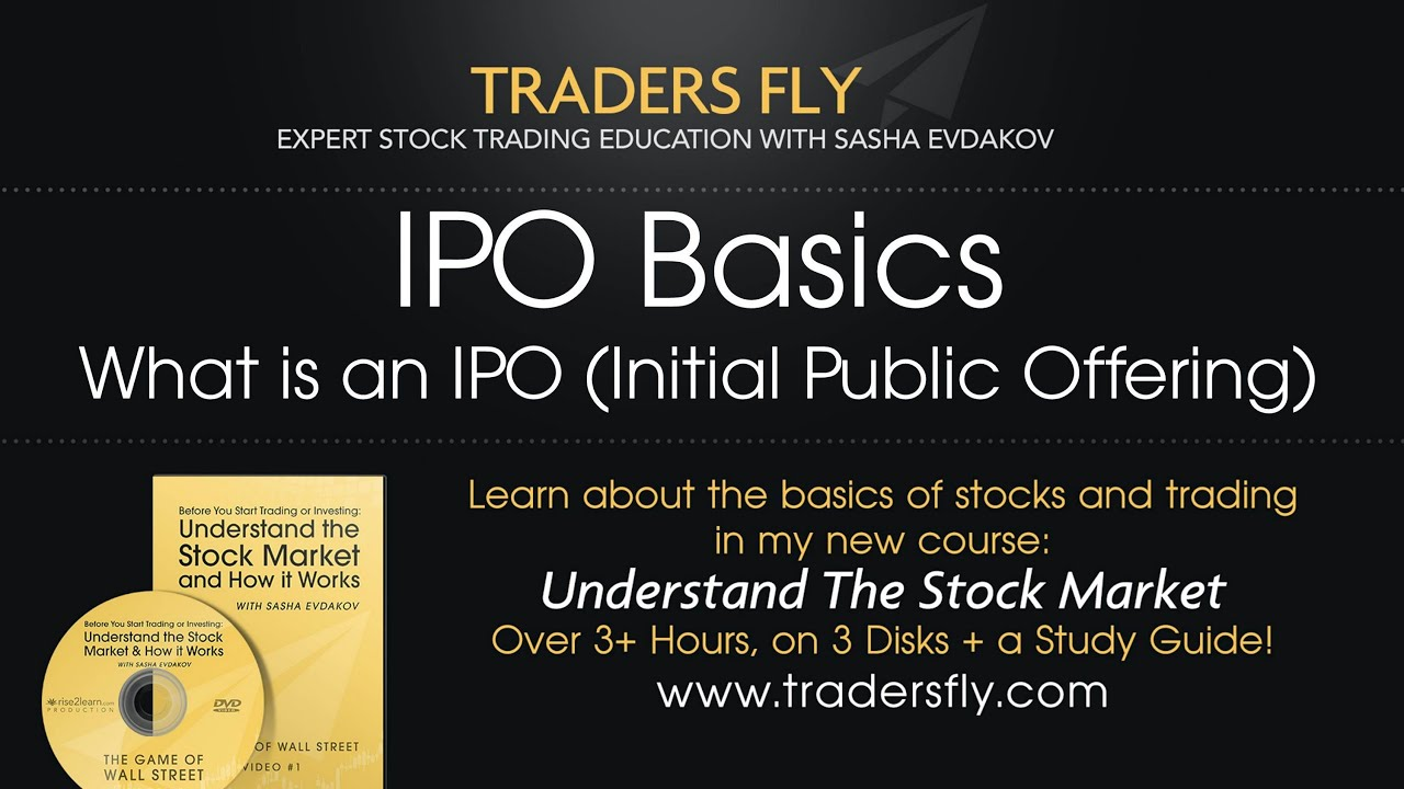 What is needed for an ipo