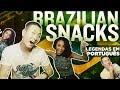 Korean American Eats Brazilian Snacks // With My Brazilian Girlfriend