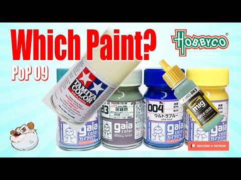 Gunpla Painting Tutorial Which Paint Should I use? PoP 09 with Lincoln Wright