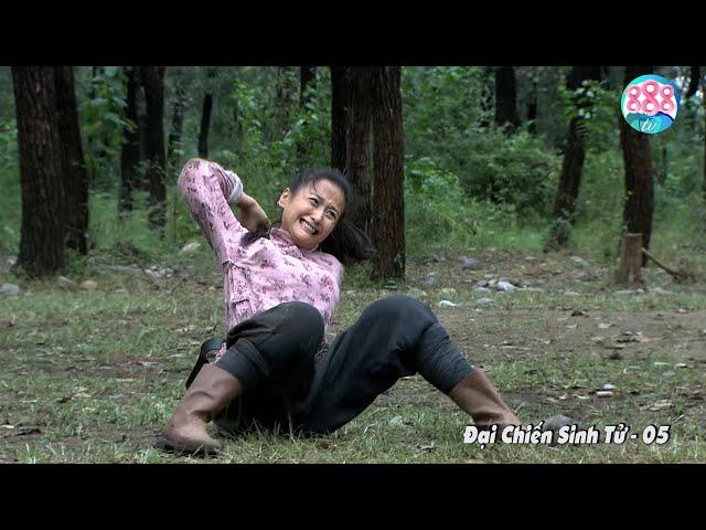 Cô Thôn Nữ Duy Nhất Sống Sót 1 Ngày 1 Đêm Bị 3 Tên Lính Háo Sắc Truy Đuổi Trong Rừng   888TV