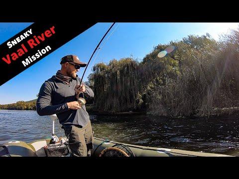 SOLID YELLOWFISH = BOAT CHAOS (Vaal River Fly Fishing)