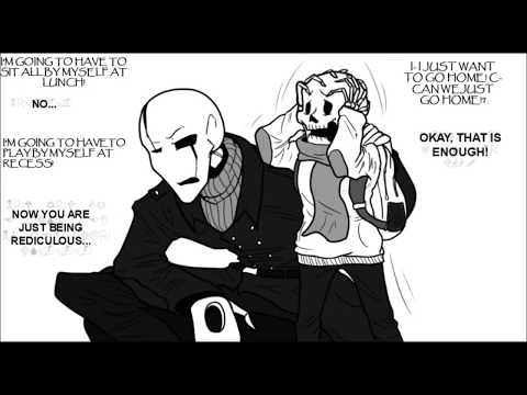 Papyrus' First Day (Comic Dub) [ft. Vade]