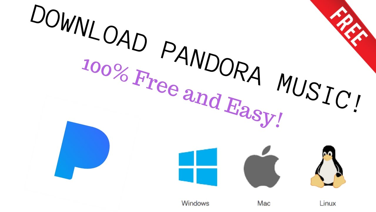 pandora download for windows