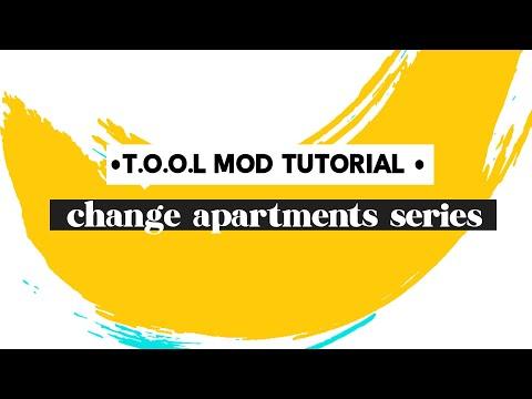 Sims 4 T.O.O.L mod tutorial: Change Pinecrest apartment balcony