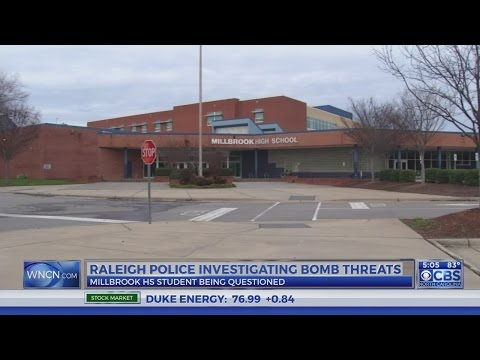 Raleigh Police track source of Millbrook bomb threat
