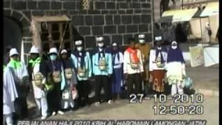 perjalanan haji kbih al haromain lamongan jatim 2010 1 mpg