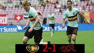Belgique - Suisse (2-1) (Amical Mai 2016 Résumé)