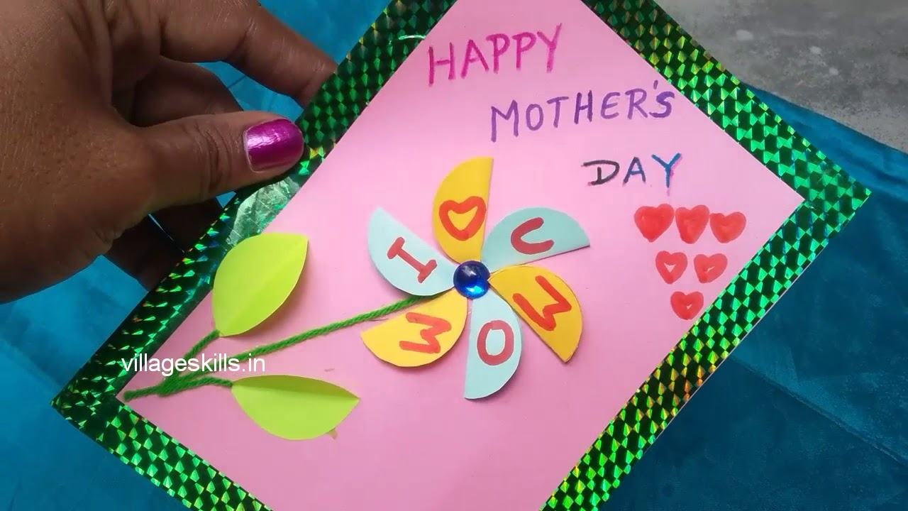 2 DIY Easy Mothers Day Special Greeting Cards Making Ideashand Made Cardsbirthday