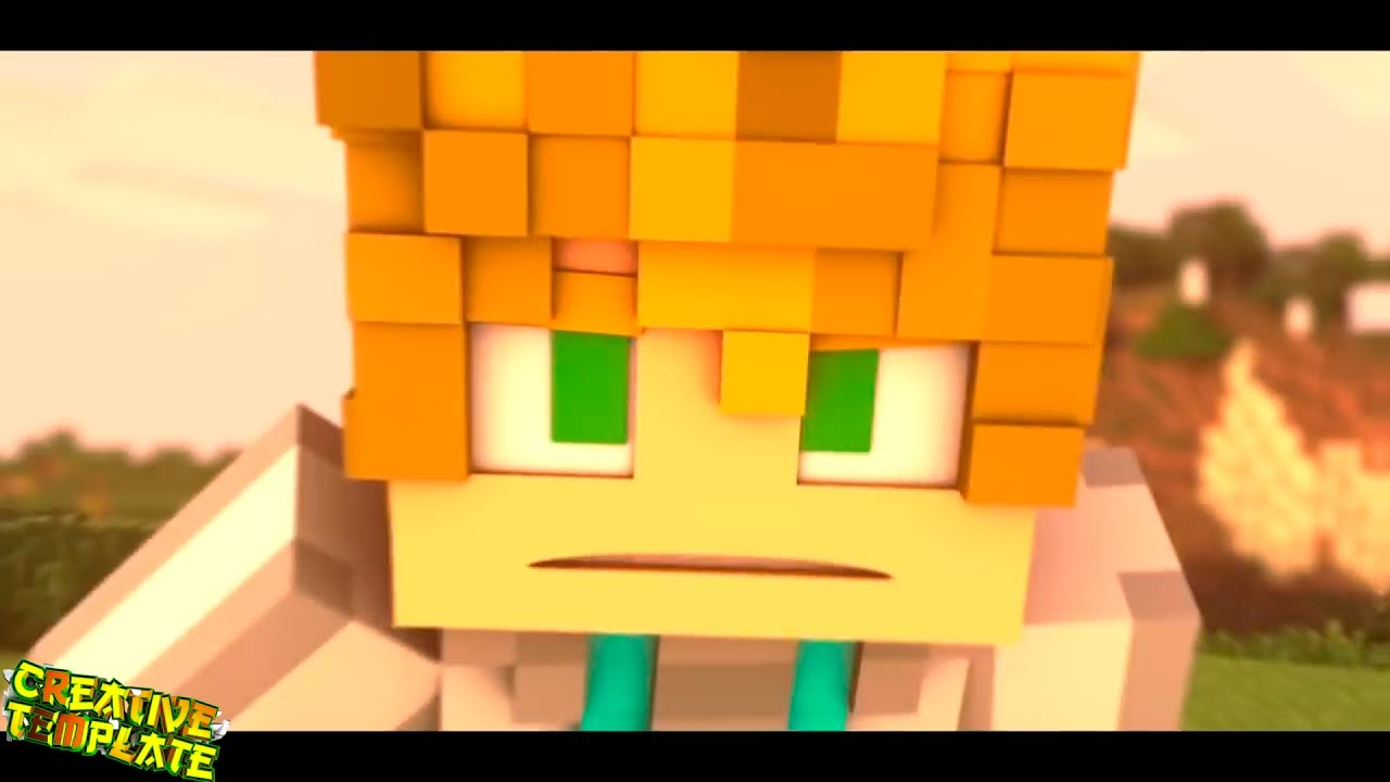 Minecraft animation top best intro 3d templates 241 for Free animated video intro templates