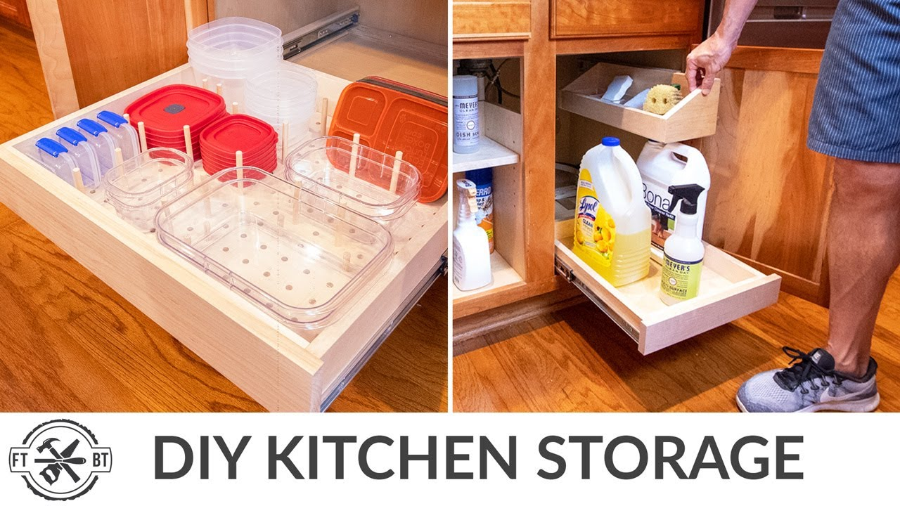 3 More Easy Kitchen Organization Projects | Home Storage