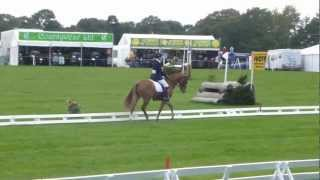 Yasmin Ingham + Craig Mor Tom - Dressage - Weston Park International 2012 CCNP2*