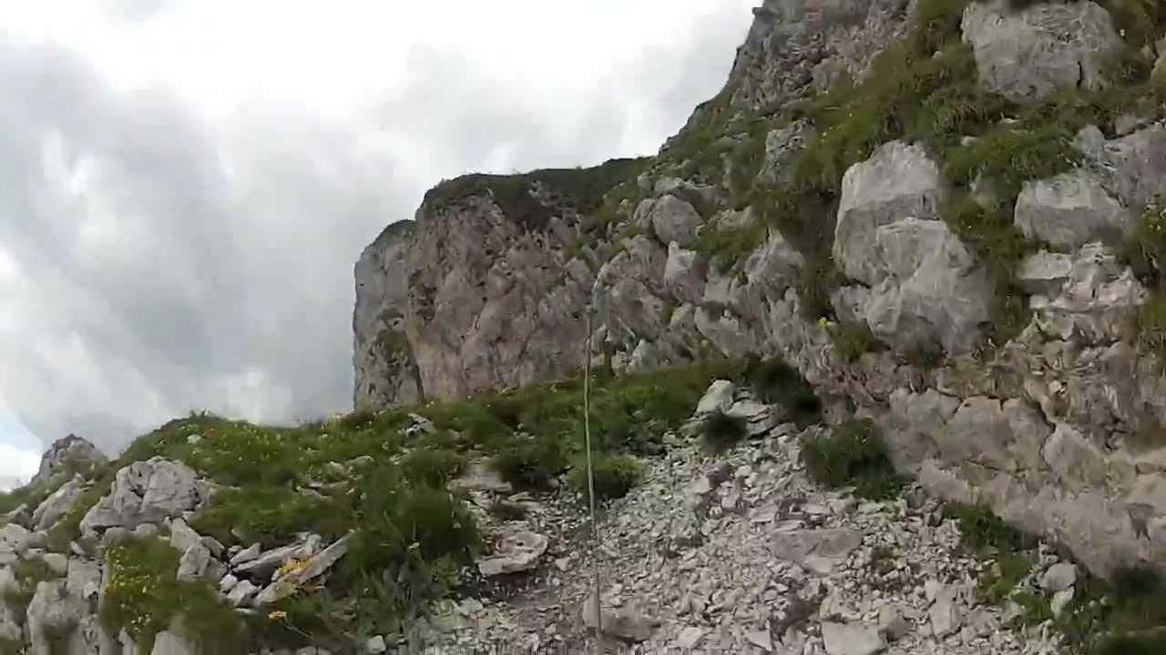 Klettersteig Gantrisch : Sommer klettersteig gantrisch youtube