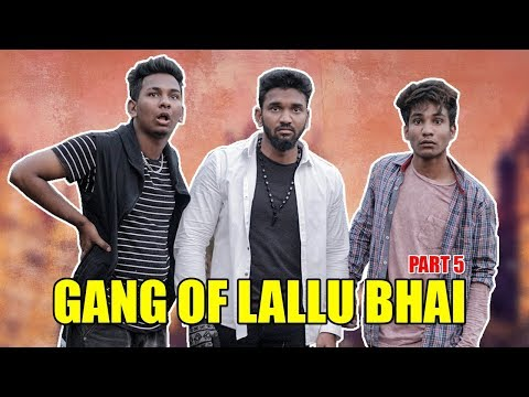 Gang Of Lallu Bhai- Part 5   Hyderabadi Comedy   Warangal Diaries