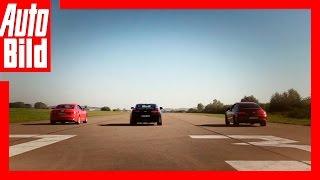 """فيديو"" شاهد سباق ربع ميل بين أودي S5 كوبيه ومرسيدس إيه إم جي C43 وكامارو SS"