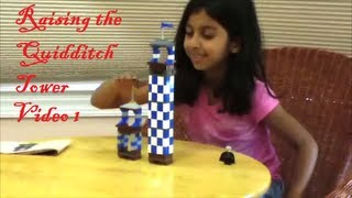 LEGO - Harry Potter - Hogwarts Castle - Raising the Quidditch Tower - Video 1